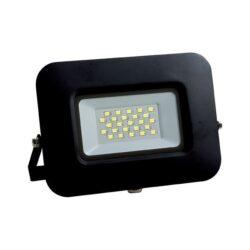 Proiector LED 20W lumina alba rece, Optonica - negru