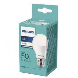 Bec LED 7W(50W) E27 lumina alba calda, PHILIPS
