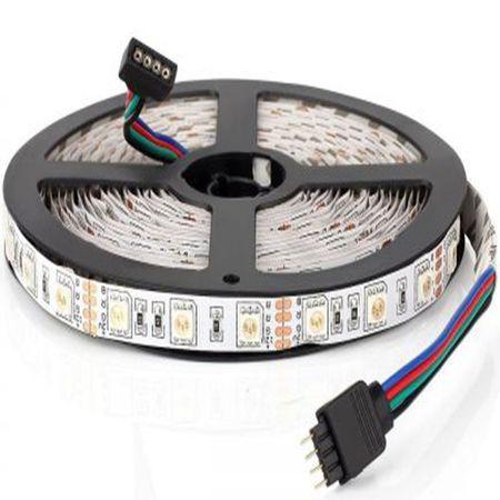 Banda LED RGB 30 LED/m, Optonica - flexibila/interior
