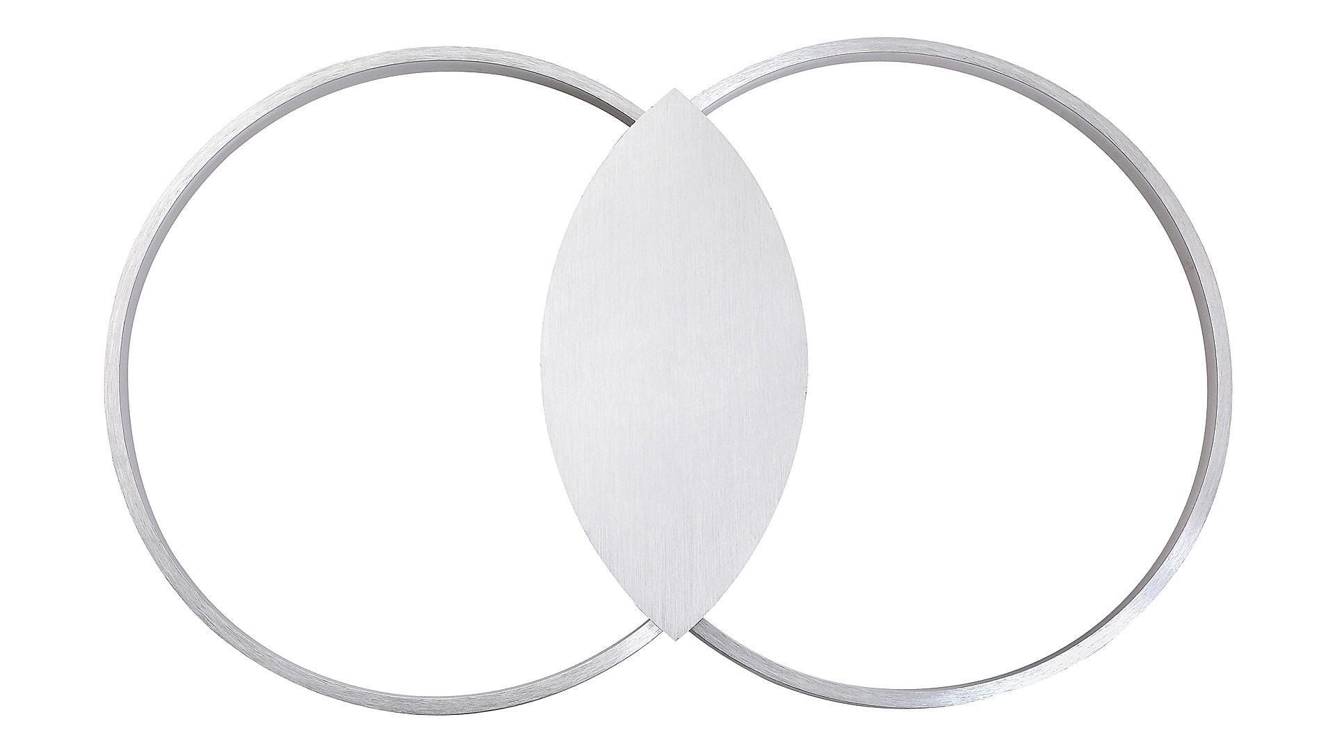 Lampa LED perete Rabalux, lumina indirecta, Aluminiu