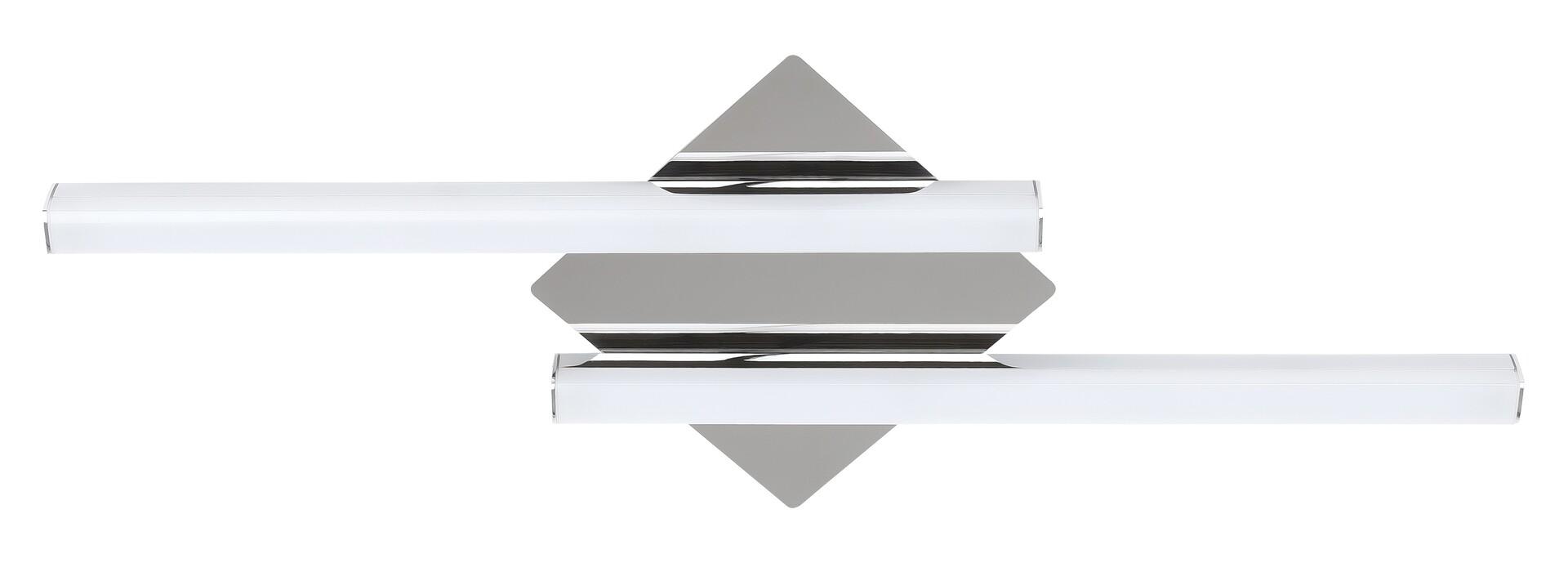 Corp LED integrat baie, minimalist Rabalux, Crom