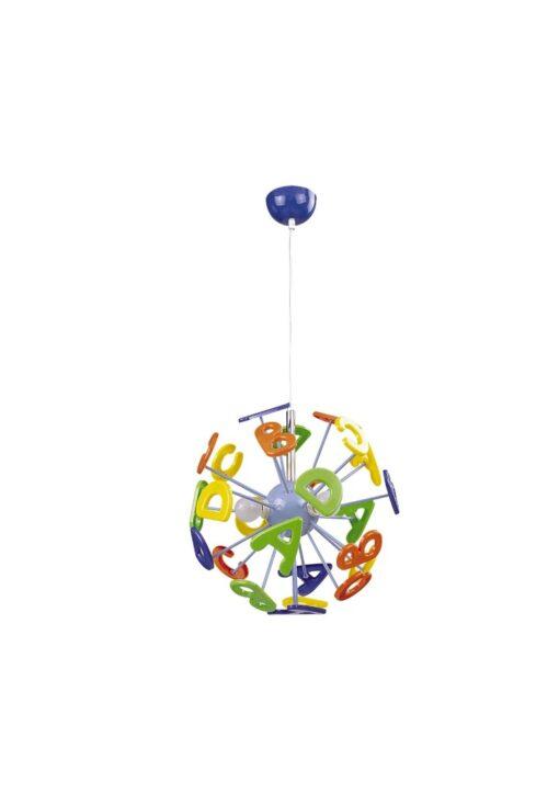 Lampa copii multicolora ABC E14 3 X MAX 40W, Rabalux