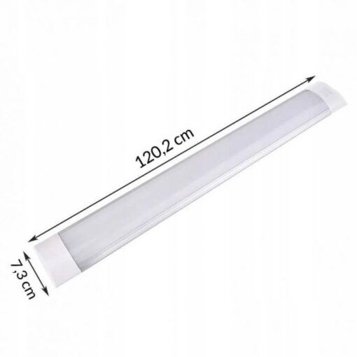 Corp de iluminat LED 40W ,120 cm lumina calda aplicat