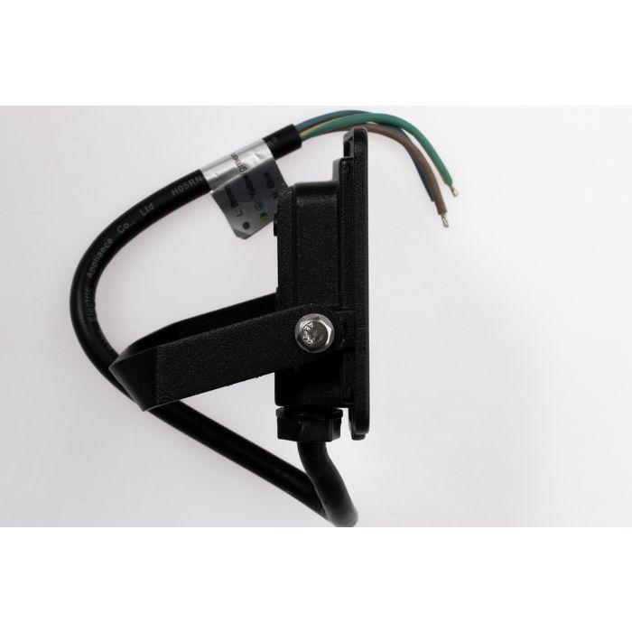 Proiector LED 10W, lumina rece,IP65 800lm, Kobi – negru
