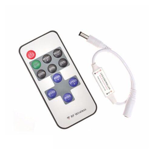 Controller banda LED monocolor RF 72W, 6A 5V - 24V