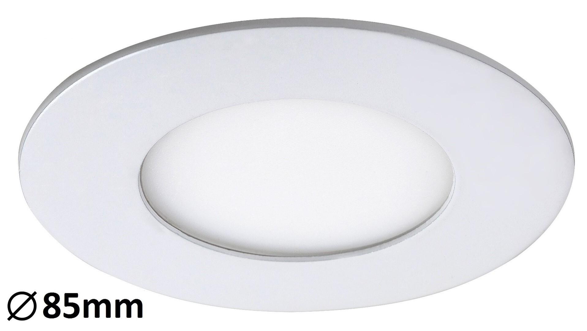 Spot LED Lois incastrat rotund 3W, 170lm, lumina alba naturala, Rabalux