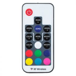 Controller banda LED RGB RF, 17 butoane 72W, 6A 5V – 24V