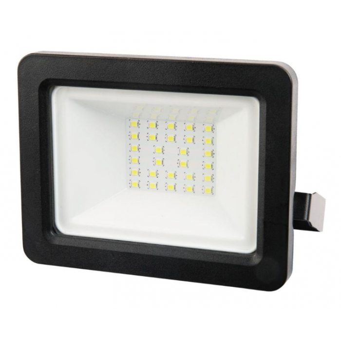 Proiector LED 20W lumina alba rece, Polux – negru