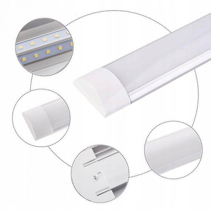 Corp iluminat LED 10W, 30 cm lumina calda, 1000lm, Ecolight