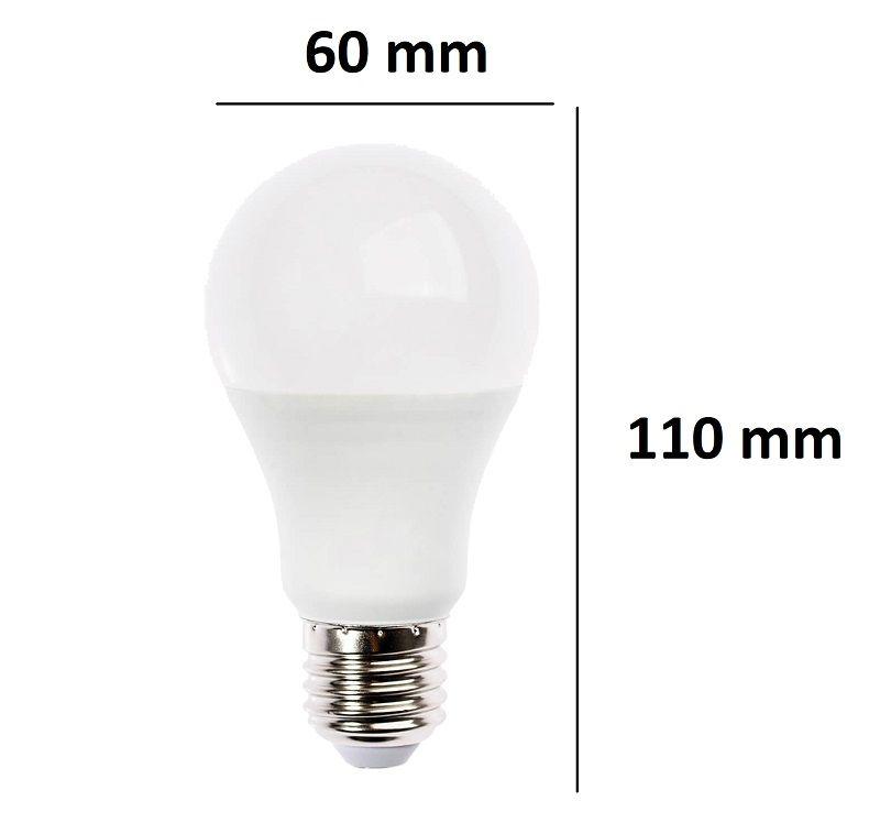 Bec LED E27 10W(65W), 6000K, 800lm, 24V, Spectrum